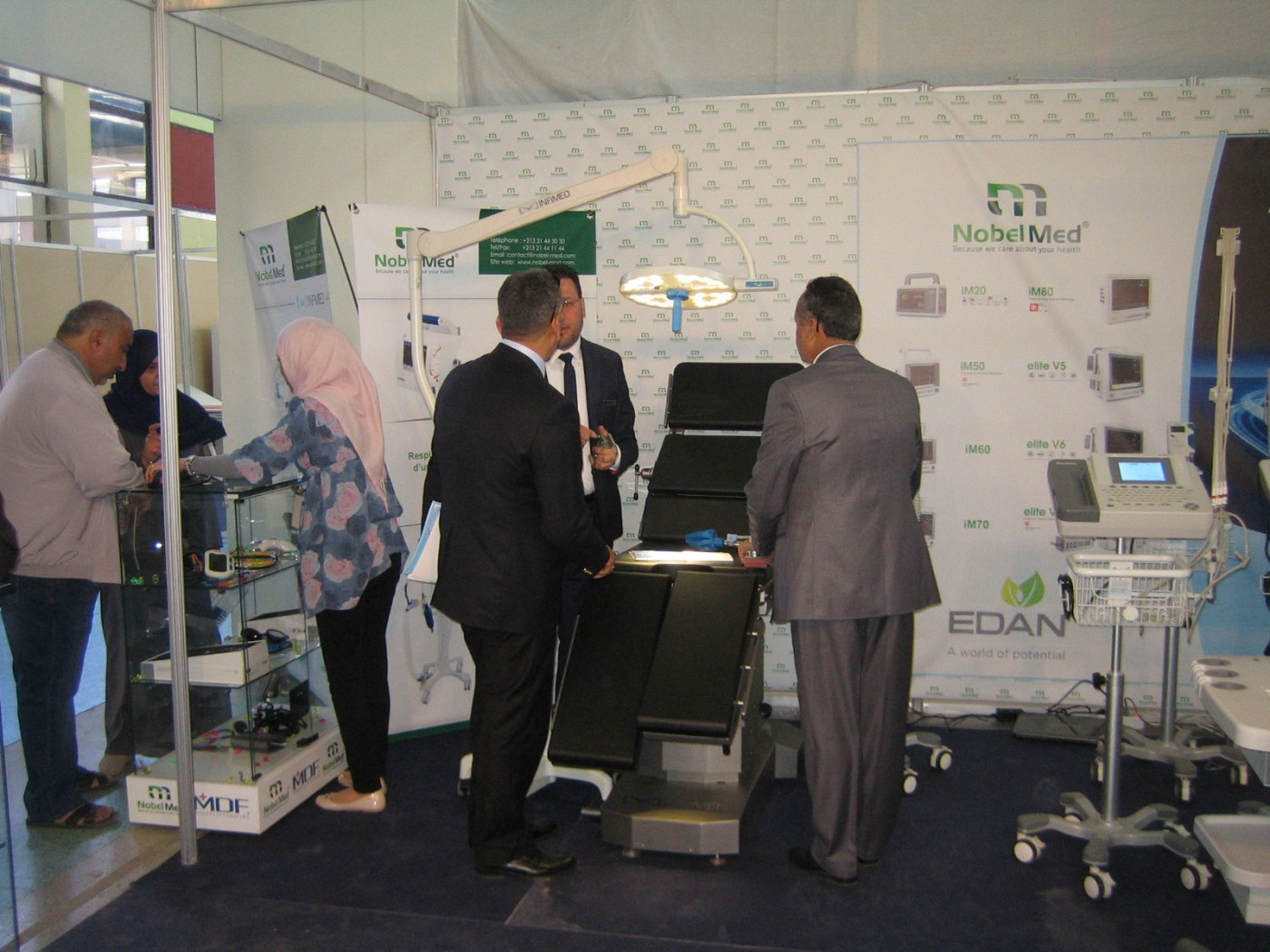 Infimed in International Exhibition of Expertise for hospitals in